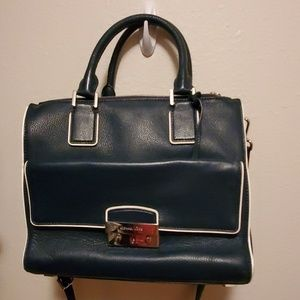 Michael Kors Structured Navy handbag